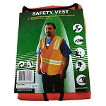 Safety Jacket (Orange)  XXXL