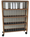 WoodTone Stack Chart Cart