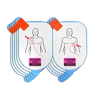 Defibtech Adult Training Pad Replacement Electrodes- (5 sets)