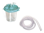 Disposable Collection Canister (1200ml) with Filter and Suction Tubing / 12 Pack
