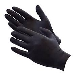 Black Nitrile Gloves - CASE (100 Boxes)