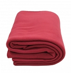 KEMP USA FLEECE BLANKET - MAROON