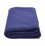KEMP USA FLEECE BLANKET - NAVY