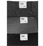 KEMP USA GRAY 30% WOOL BLANKET
