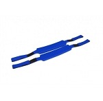 KEMP USA ROYAL BLUE HEAD IMMOBILIZER REPLACEMENT STRAPS(PAIR)