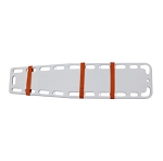 Kemp Hook And Loop Spine Board Straps - Orange