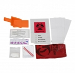 BLOODBORNE PATHOGEN KIT IN A PLASTIC BAG