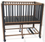 Pediatric Crib Bed