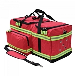 KEMP USA FIREFIGHTER GEAR BAG - RED