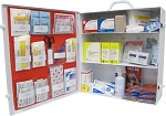 ANSI Class A Three Shelf First Aid Station