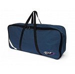KEMP USA NAVY COLLAR BAG W/ REFLECTIVE TAPE