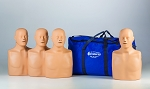 Training Man: Two-in-One CPR Manikin 4 pack with carry case