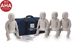 Prestan Infant CPR Training Manikin with CPR Monitor 4 Pack