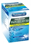PhysiciansCare Extra Strength Pain Reliever, 125x2/box  child proof packaging