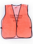 SE Neon Mesh Safety Vest High Vision Orange