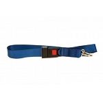 KEMP USA TWO PIECE SPINE BOARD STRAP WITH METAL BUCKLE - ROYAL BLUE