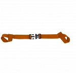 KEMP USA TWO PIECE SPINE BOARD STRAP - ORANGE