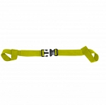 KEMP USA TWO PIECE SPINE BOARD STRAP - YELLOW