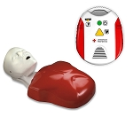Starter Instructor Package #6: Basic Buddy Manikin + Red Cross AED Trainer