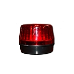 Bright Red Flashing Strobe