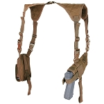 Universal Shoulder Holster- Coyote Brown