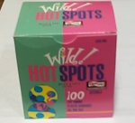 Wild Hot Adhesive Bandages, Spots, 7/8
