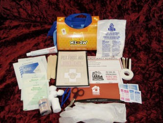 Me Ow Cat First Aid Kit