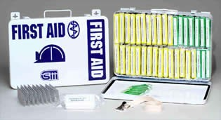 Mine Safety & Health Administration First Aid Kit