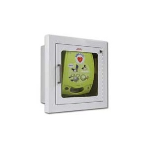 AED Wall Cabinet (Flush Mount) with Alarm