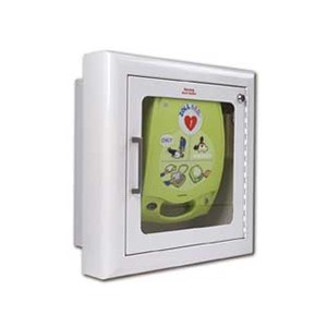 AED Wall Cabinet (Recessed Mount) with Alarm