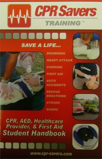 CPR Savers Training Handbook (English or Spanish)
