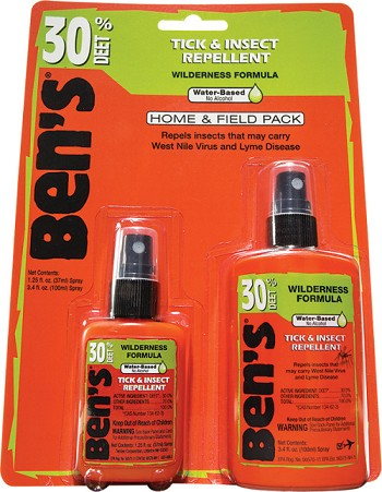 Ben's Home & Field Pack 3.4oz & 1.25oz, 12pc