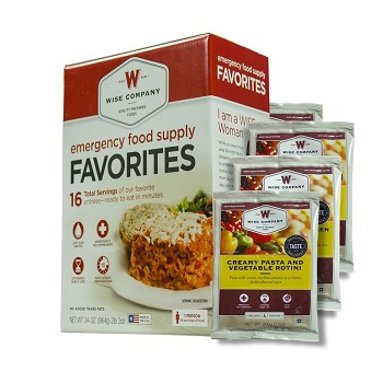 Wise Foods Emergency Food Supply Favorites