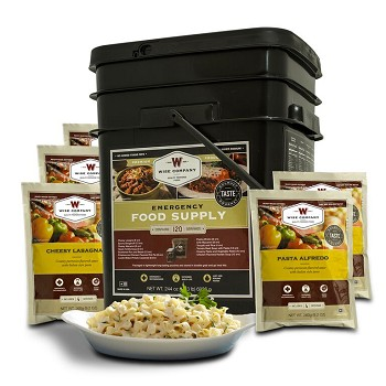 120 Serving Entrée Only Grab & Go Bucket
