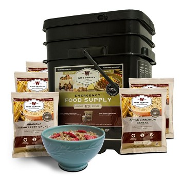 120 Serving Breakfast Only Grab & Go Bucket