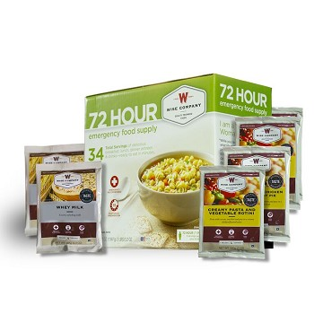Wise Foods 72 Hour Emergency Food Supply