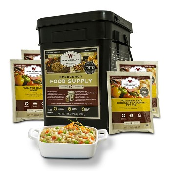 60 Serving Bucket Entree Only Grab & Go Bucket