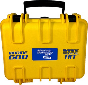 Marine 600 Medical Kit with Waterproof Box