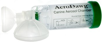 AeroDawg Canine Aerosol Chamber for Dogs