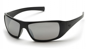 GOLIATH - Silver Mirror Lens with Black Frame