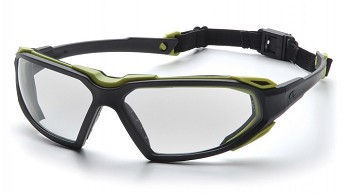 HIGHLANDER - Clear H2X Anti-Fog Lens with Black/Lime Frame