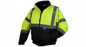 RJ32 SERIES JACKETS - Type R - Class 3 Hi-Vis Lime Jacket Large