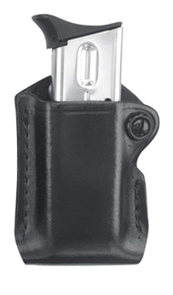 B850-3 Gold Line Single Mag Case With Belt Loop (Black)