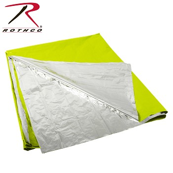 Polarshield Safety Green Survival Blanket