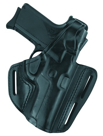 G&G Three Slot Pancake Holster - Fits GLOCK 19, 23, 32