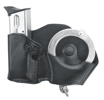 Gold Line Cuff And Mag Case With Belt Loops (Black)