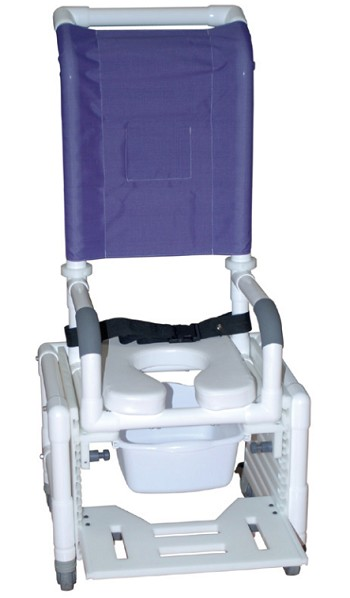 Adjustable Shower Commode Chair
