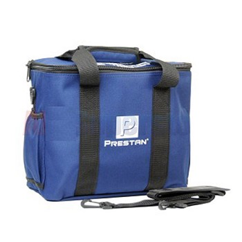 Four pack blue bag for the Prestan Professional AED Trainer