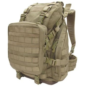 Assault Pack + Shoulder Bag