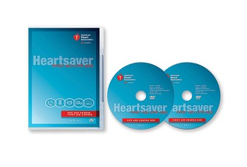Heartsaver FIrst Aid CPR AED Set 2015